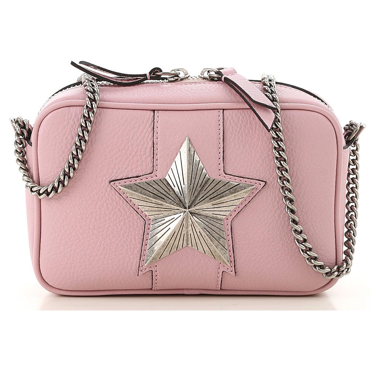 Les Jeunes Etoiles Handbags On Sale, Pink, Leather, 2019