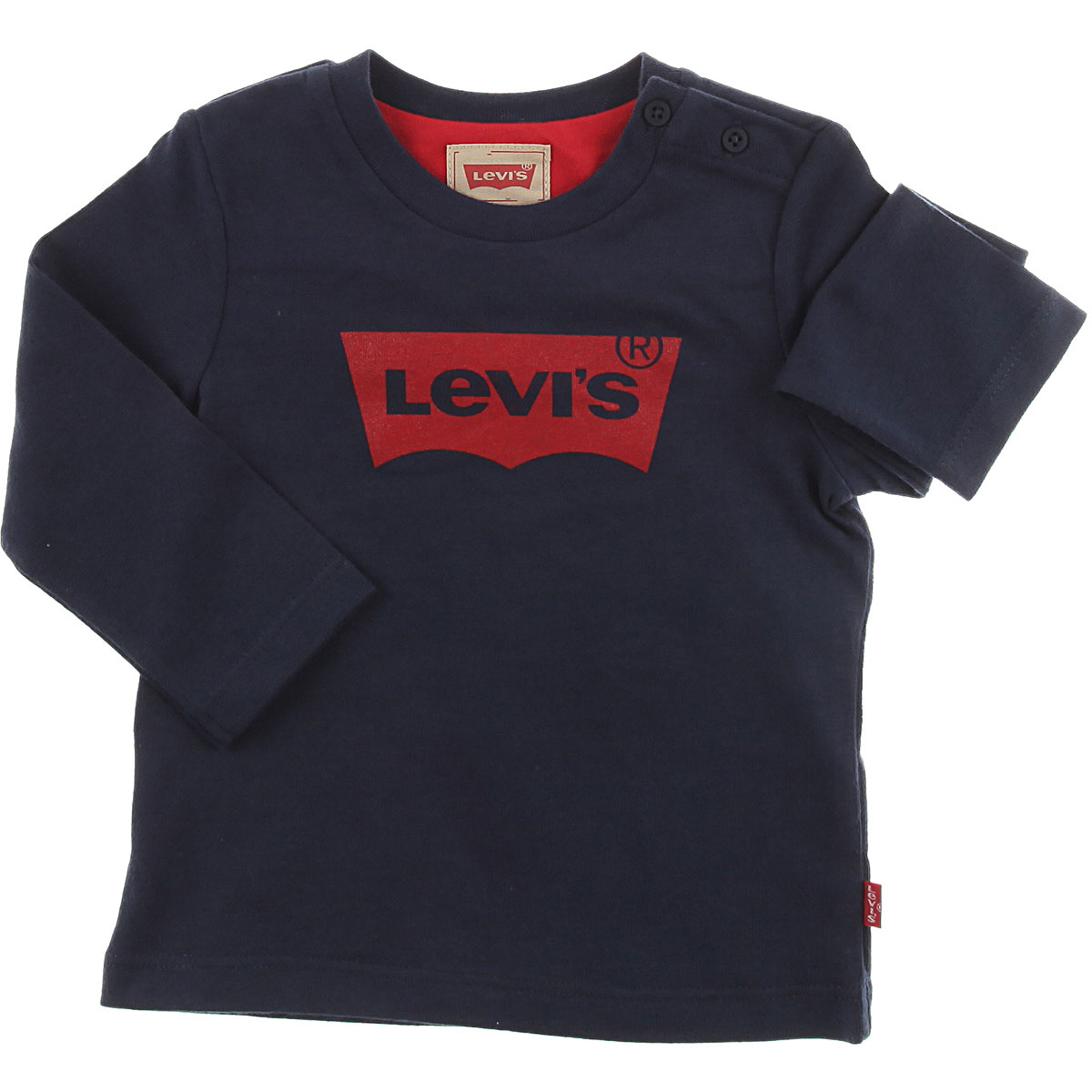 Image of Levis Baby Jacket for Boys, Blue, Cotton, 2017, 12M 18M 2Y 3Y 6M 9M