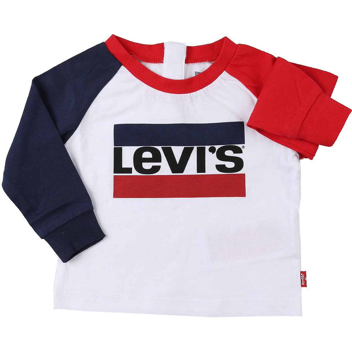 Levis Baby T-Shirt for Boys On Sale, White, Cotton, 2019, 18M 2Y 3Y 6M 9M
