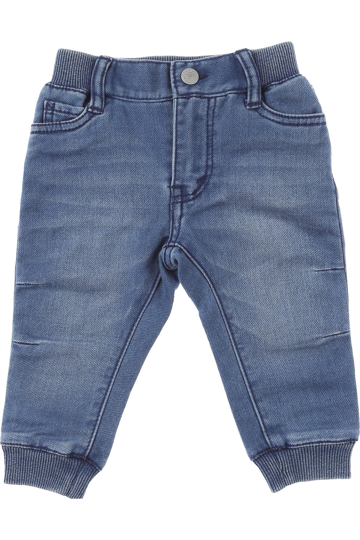 Levis Baby Jeans for Boys On Sale, Blue Denim, Cotton, 2019, 18 M 2Y