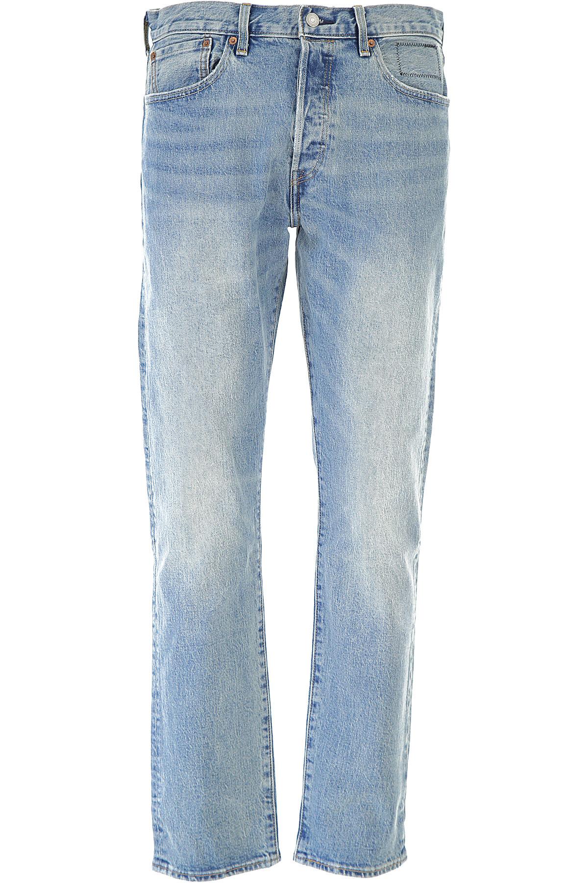 Levis Jeans On Sale, Denim Light, Cotton, 2017, 28 29 30 31 32 33