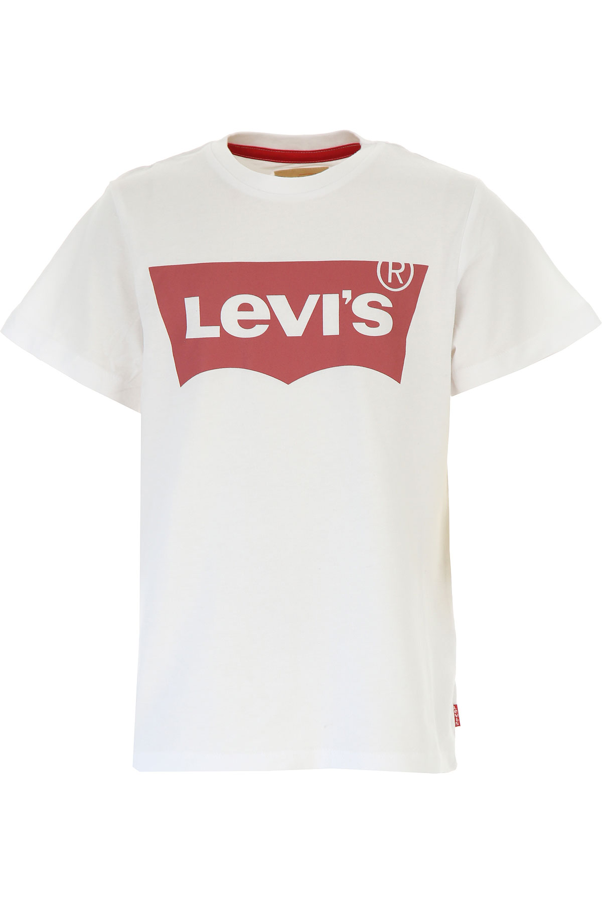 Levis Kids T-Shirt for Boys On Sale, White, Cotton, 2019, 14Y 16Y 4Y 8Y