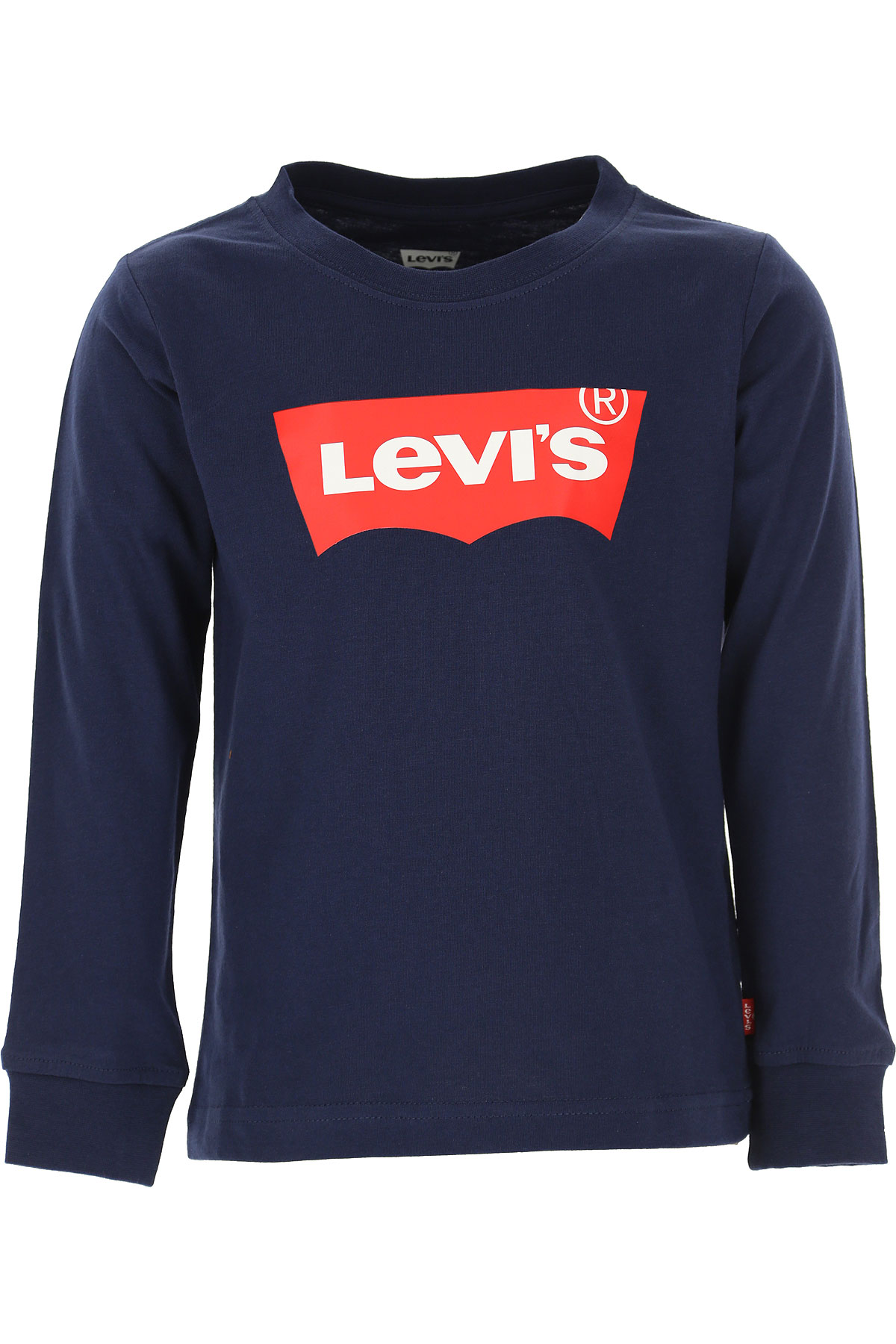 Levis Kids T-Shirt for Boys On Sale, navy, Cotton, 2019, 14Y 4Y