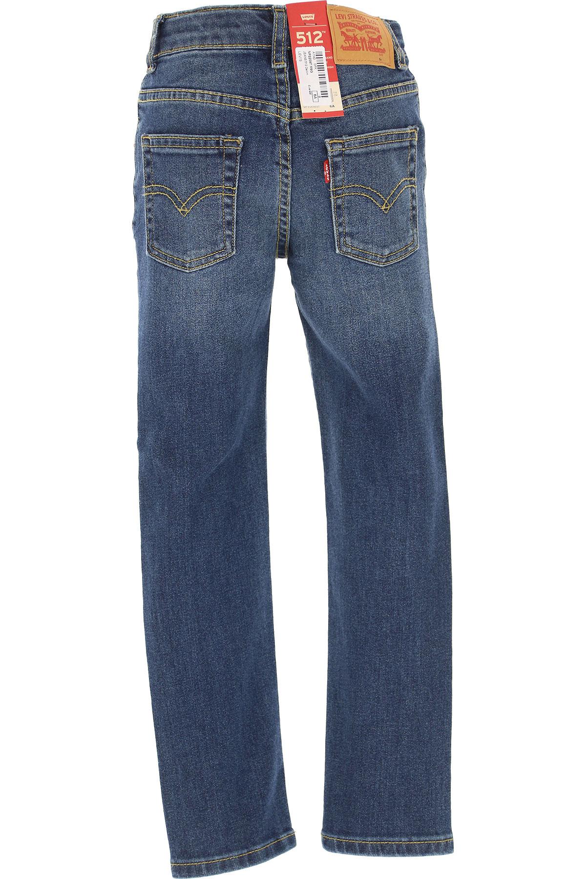 Levis Kids Jeans for Boys On Sale, Blue Denim, Cotto, 2019, 10Y 4Y