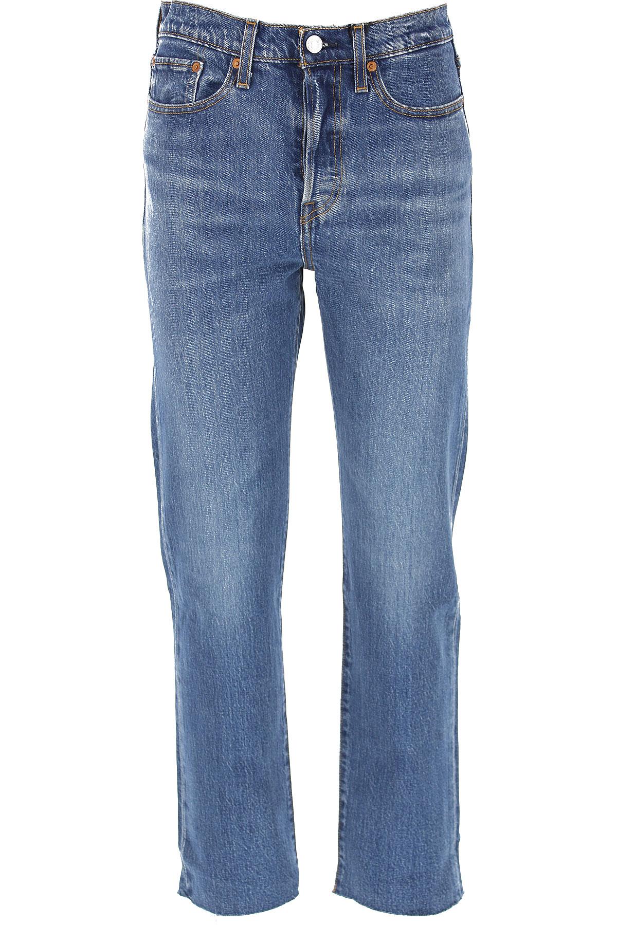 Levis Jeans On Sale, Denim, Cotton, 2017, 25 26 27 28 29 30