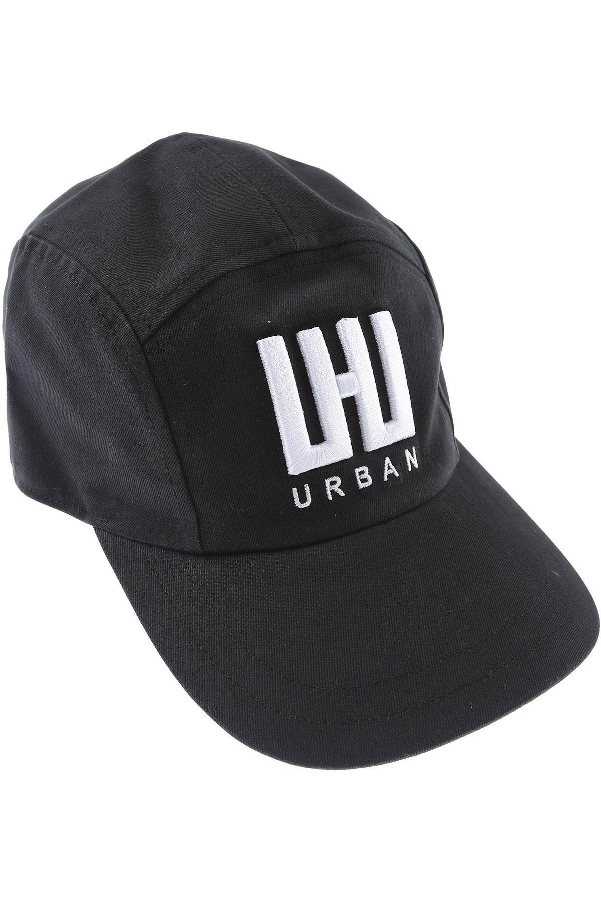 Les Hommes Hat for Women On Sale, Black, Cotton, 2019