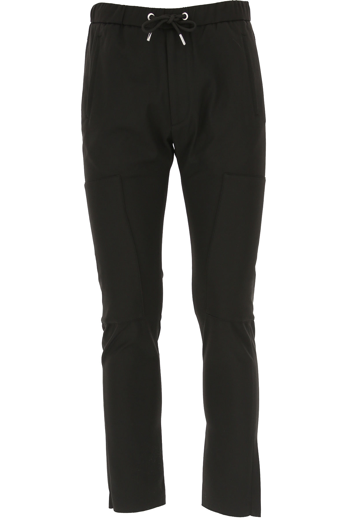 Les Hommes Pants for Men On Sale, Black, polyamide, 2019, L M XL
