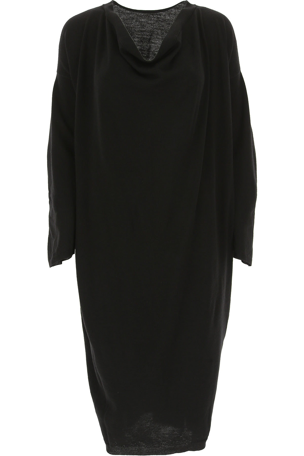 Image of Liviana Conti Dress for Women, Evening Cocktail Party, Black, Wool, 2017, 2 4 6