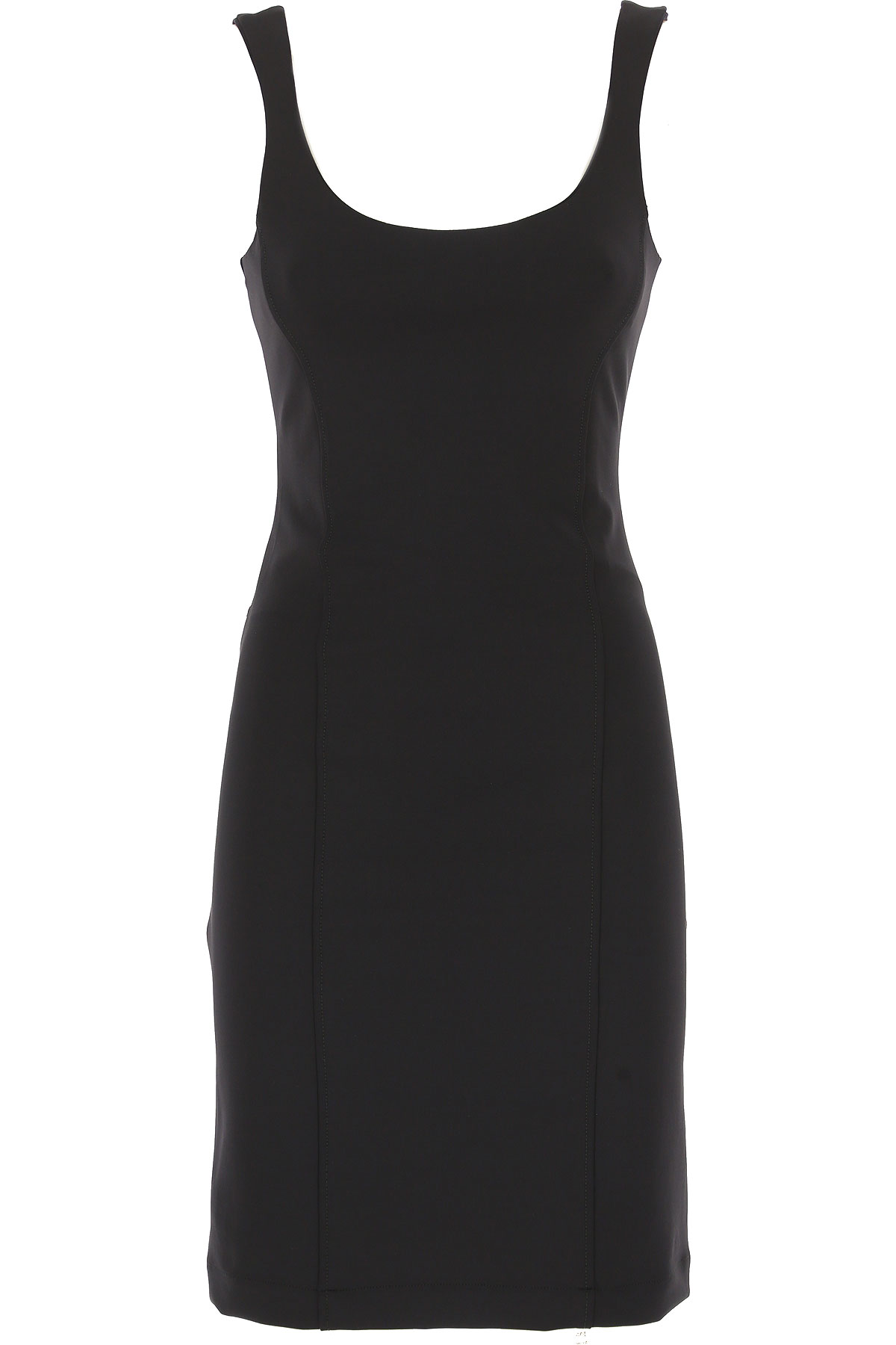 Image of Liviana Conti Dress for Women, Evening Cocktail Party, Black, polyamide, 2017, 2 4 6 8