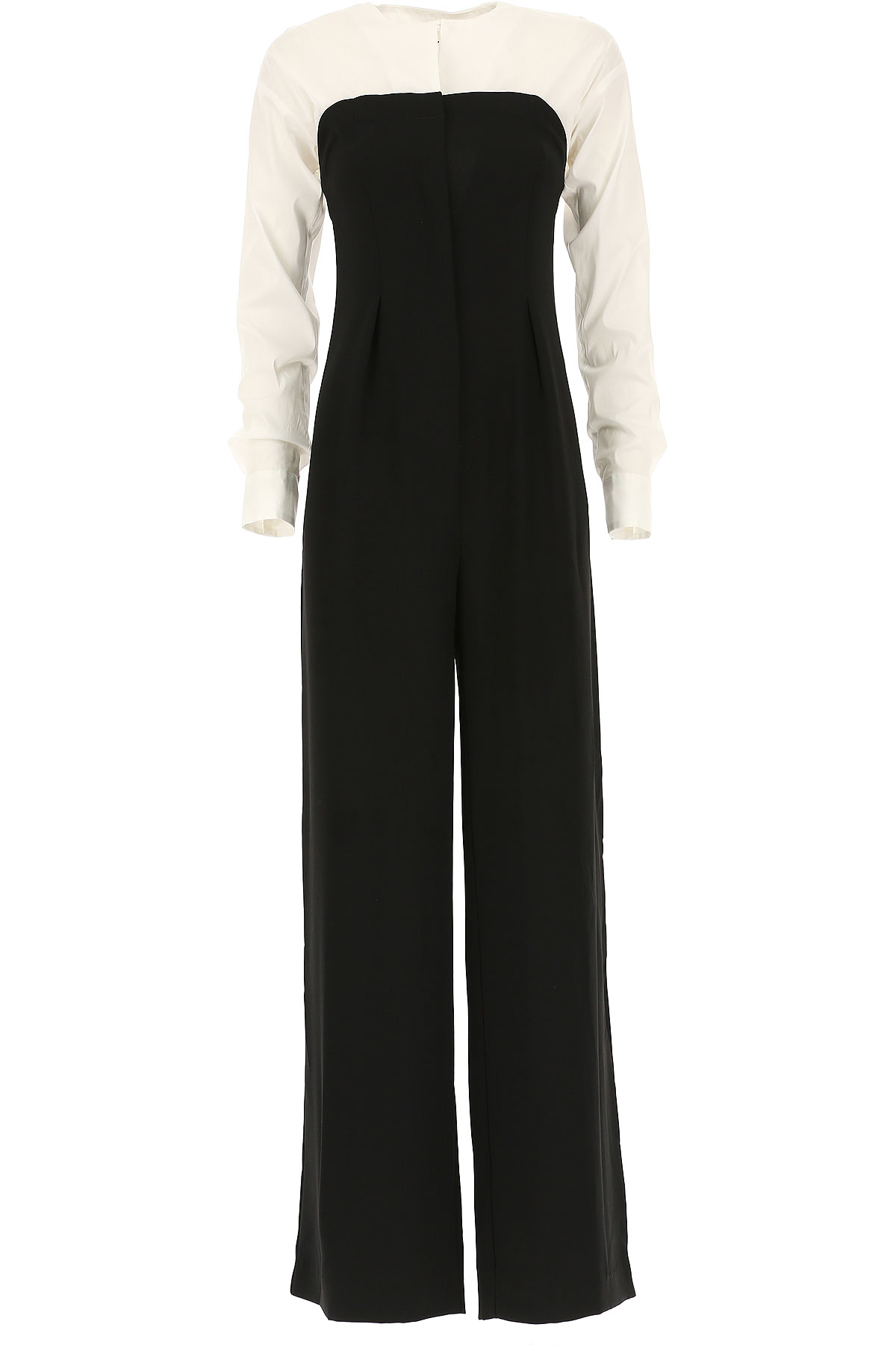 Image of Liviana Conti Dress for Women, Evening Cocktail Party, Black, Cotton, 2017, 2 4 6