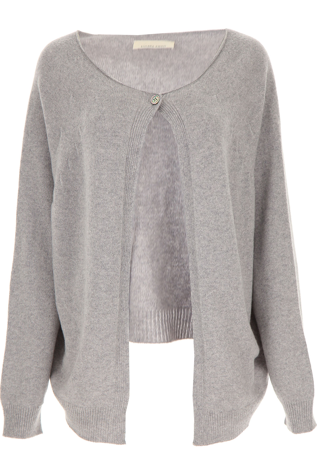 Liviana Conti Sweater for Women Jumper On Sale, Grey, Virgin wool, 2019, 4 6