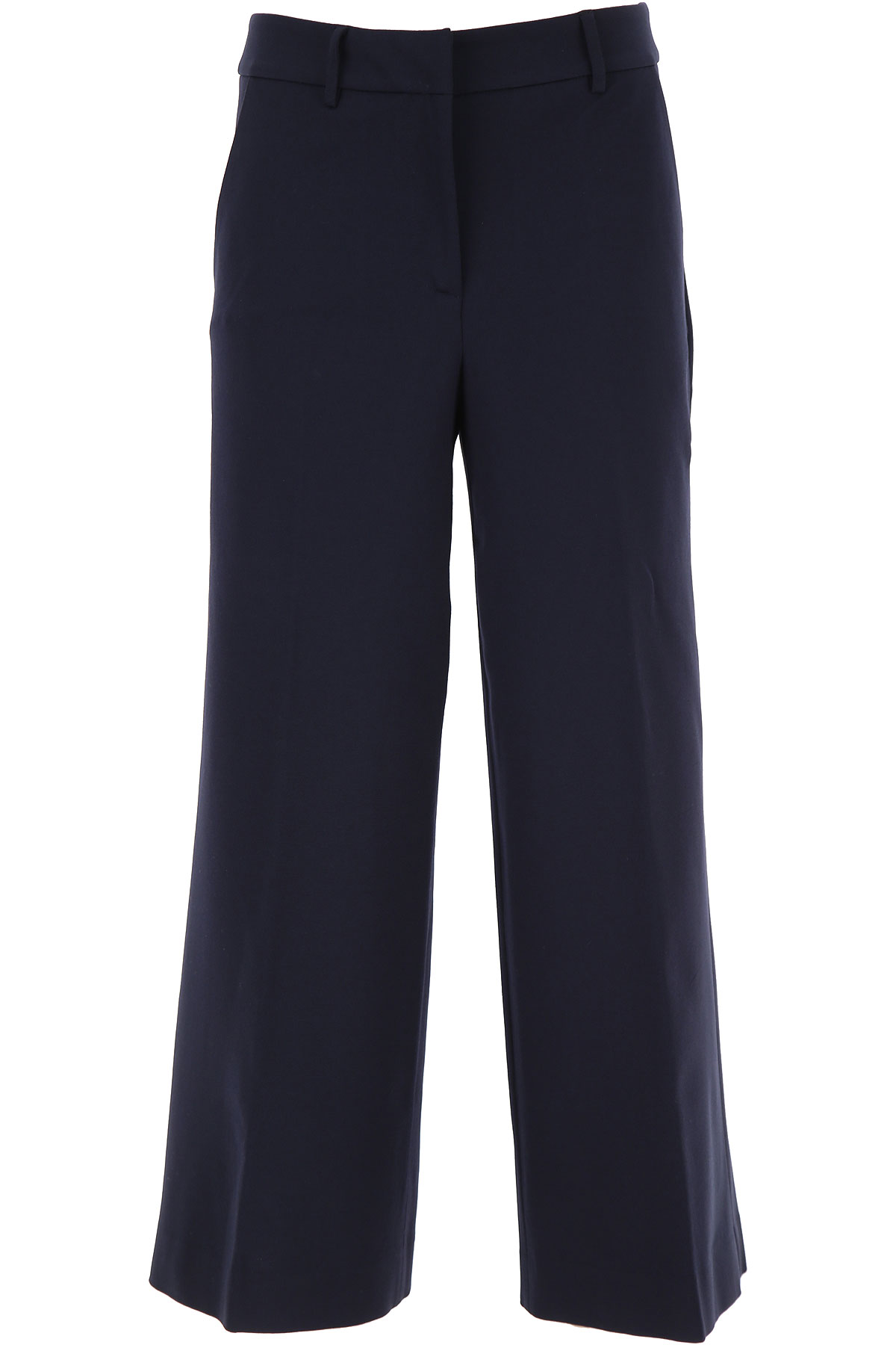 Liviana Conti Pants for Women On Sale, Navy Blue, viscosa, 2019, 6 8