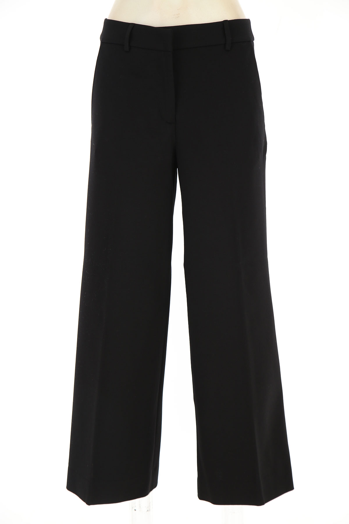 Liviana Conti Pants for Women On Sale, Black, viscosa, 2019, 6 8