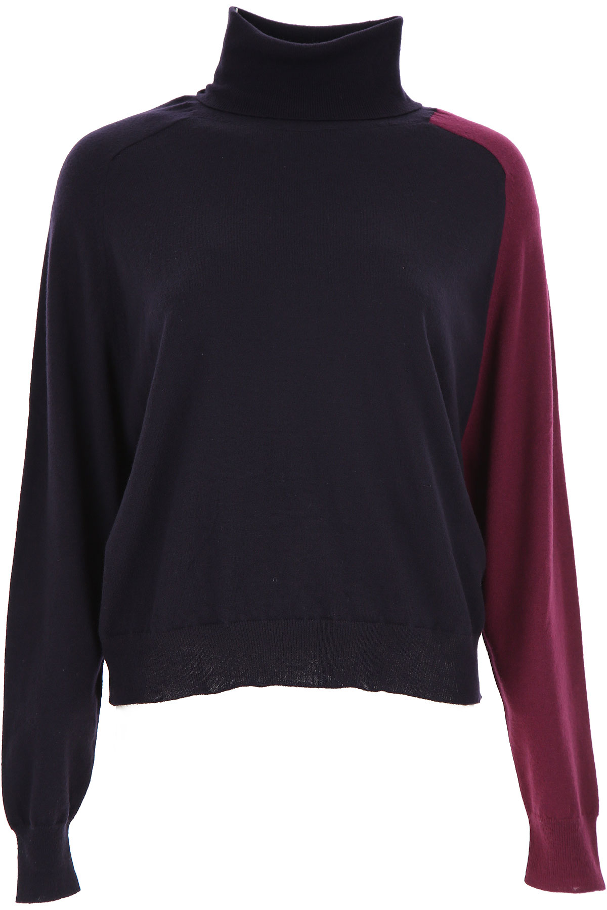 Liviana Conti Sweater for Women Jumper On Sale, Midnight Blue, Virgin wool, 2019, 4 6 8