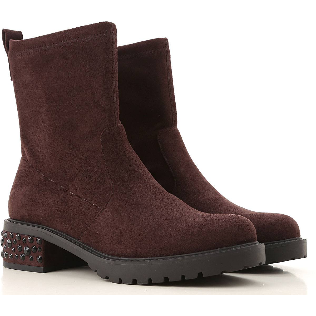 Liu Jo Boots for Women, Booties On Sale, Brown, Microfiber Stretch, 2019, 10 6 7 8 9