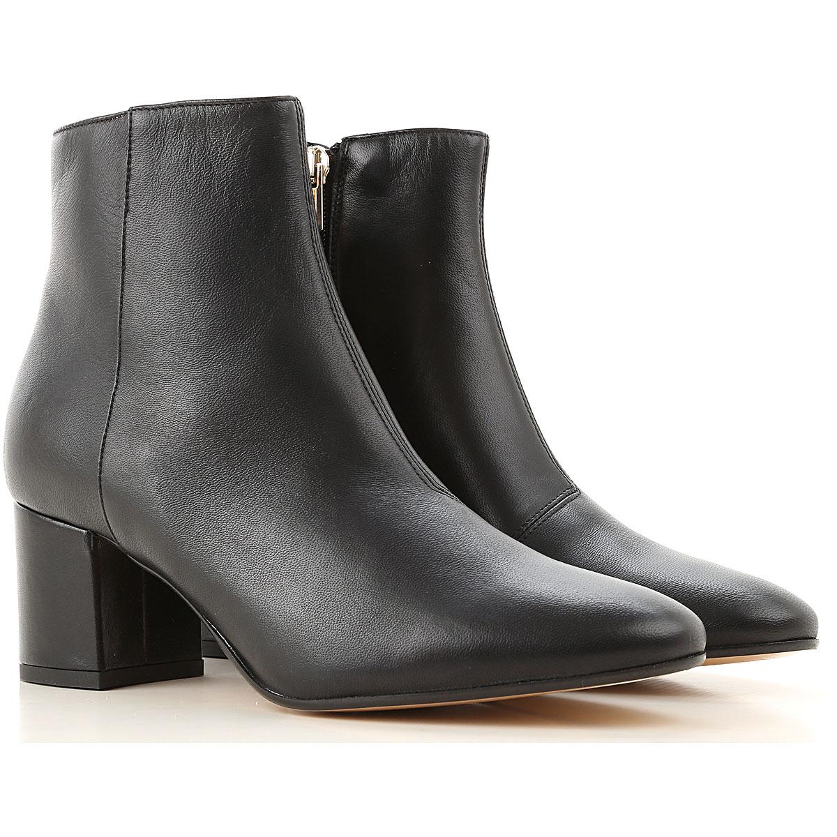 Liu Jo Boots for Women, Booties On Sale, Black, Leather, 2019, 6 8 9