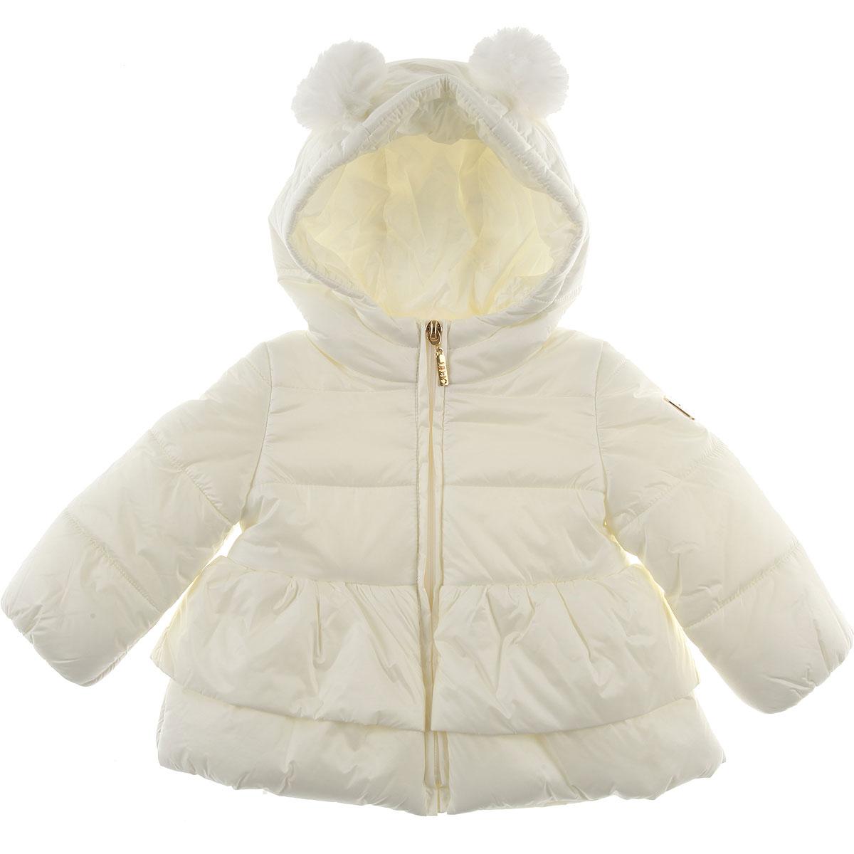 Image of Liu Jo Baby Down Jacket for Girls, White, polyamide, 2017, 18M 9M