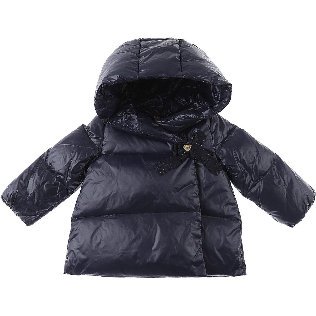 Liu Jo Baby Down Jacket for Girls On Sale, Midnight, polyamide, 2019, 12M 18M 9M