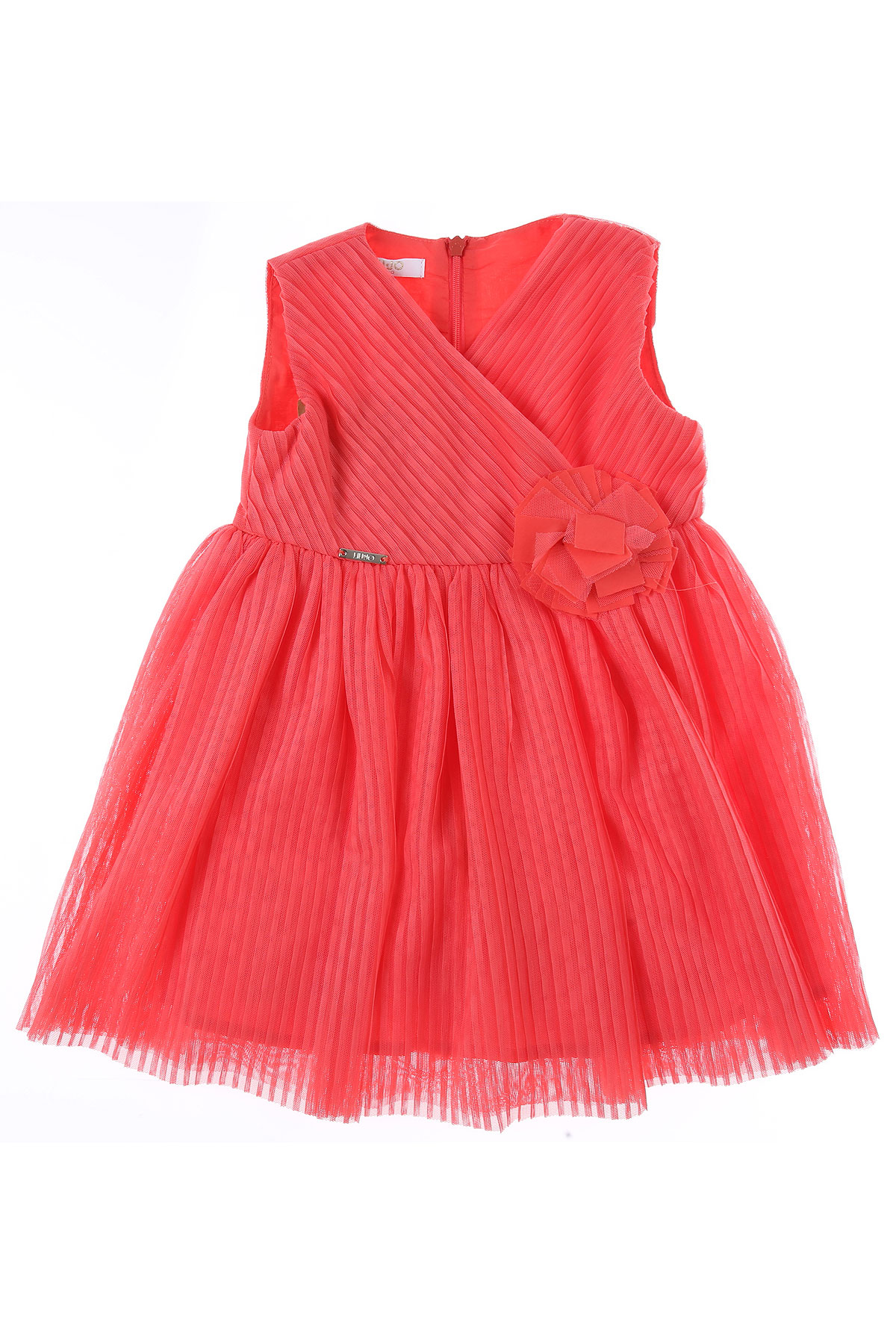 Liu Jo Baby Dress for Girls On Sale, Coral, polyester, 2019, 12M 18M 3M 6M