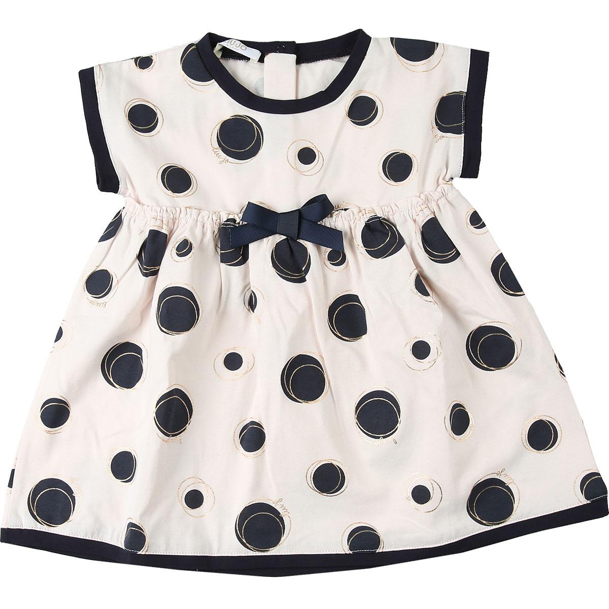 Liu Jo Baby Dress for Girls On Sale, Pink, Cotton, 2019, 18M 6M