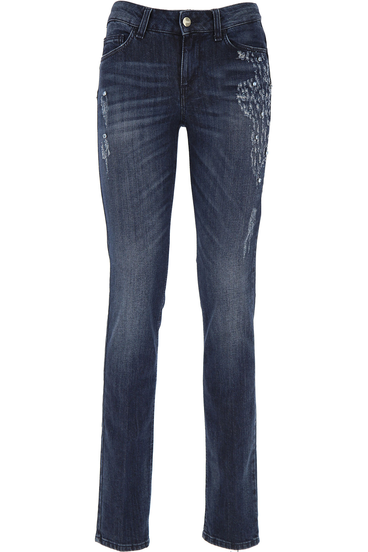 Image of Liu Jo Jeans On Sale in Outlet, Denim, Cotton, 2017, 27 28 29 30 31 32