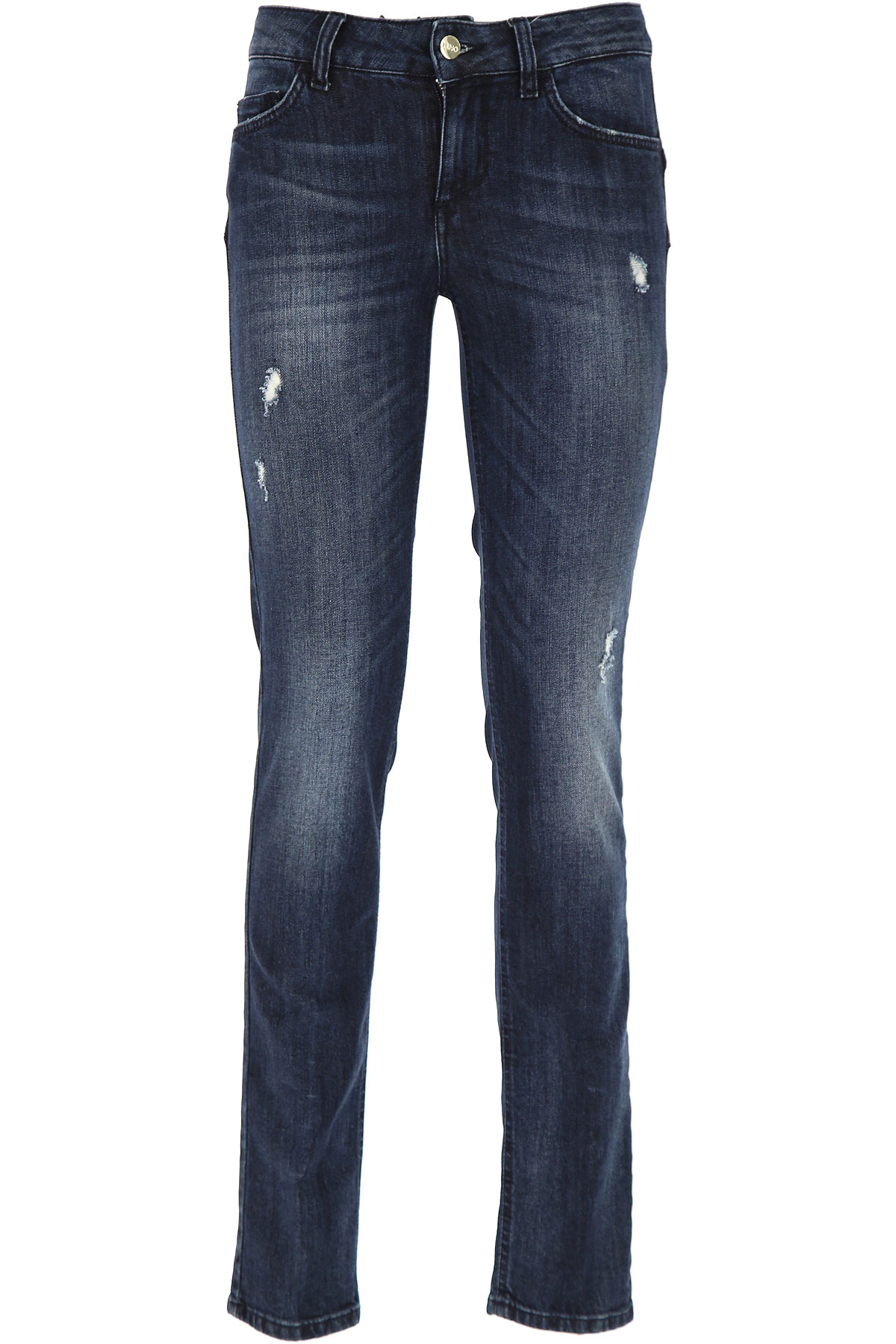 Image of Liu Jo Jeans On Sale in Outlet, Denim, polyester, 2017, 26 27 28 30 32