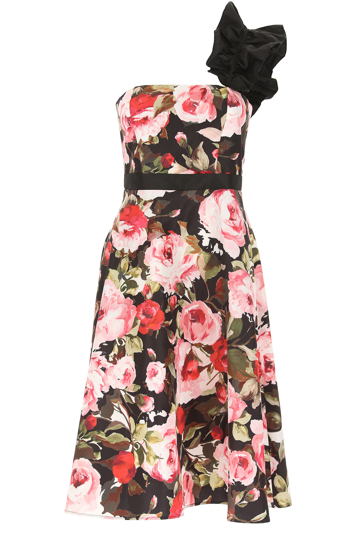 Image of Liu Jo Dress for Women, Evening Cocktail Party, floral, polyestere, 2017, 4 6