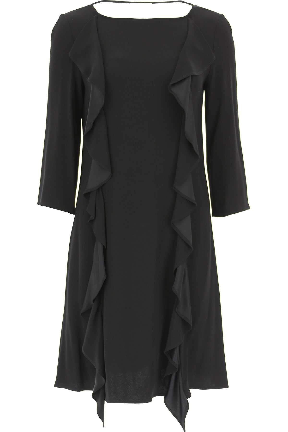 Image of Liu Jo Dress for Women, Evening Cocktail Party, Black, viscosa, 2017, 4 6