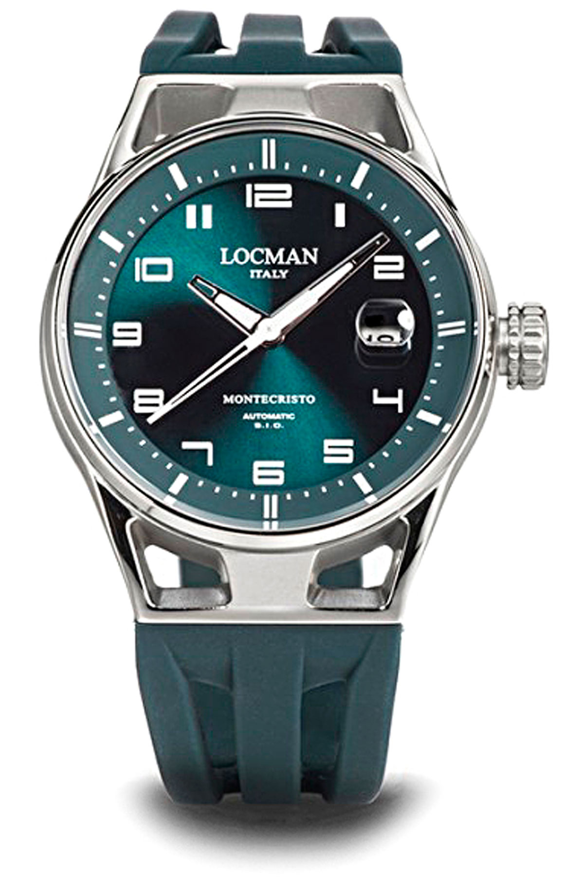 Locman Watch for Men, Green, Stainless Steel, 2019