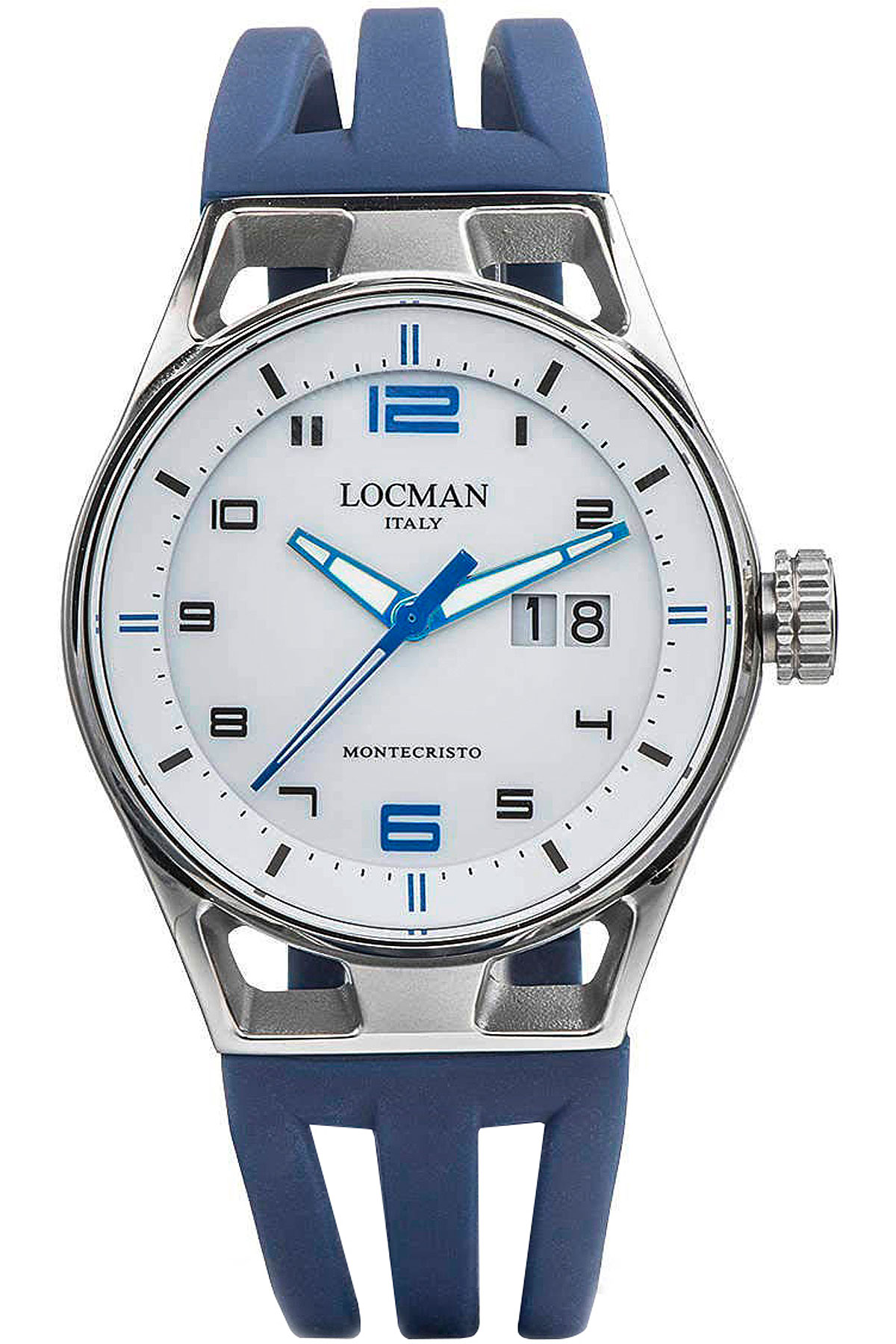 Locman Watch for Men, Blue, Stainless Steel, 2019