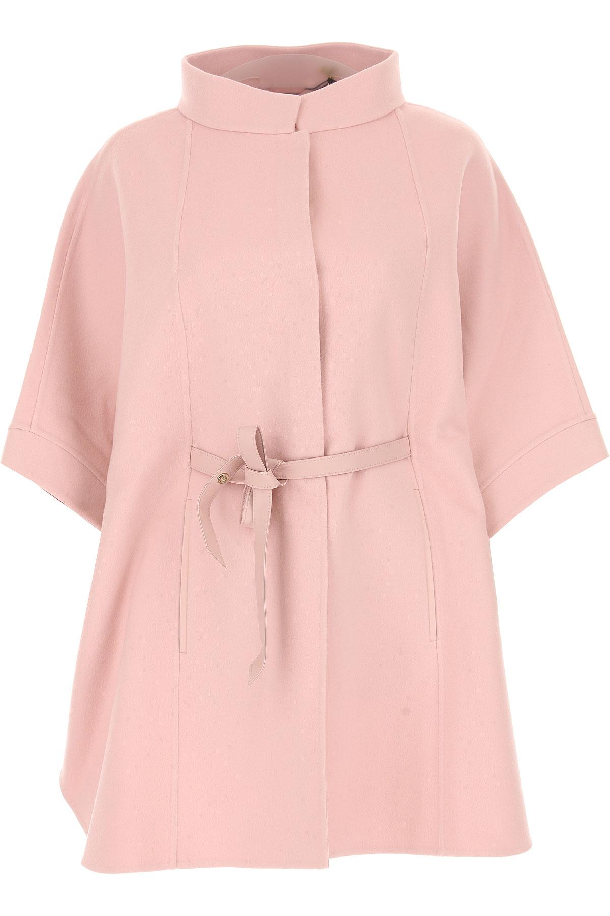 Image of Loro Piana Women\'s Coat, Pink, Cashemere, 2017, 4 6