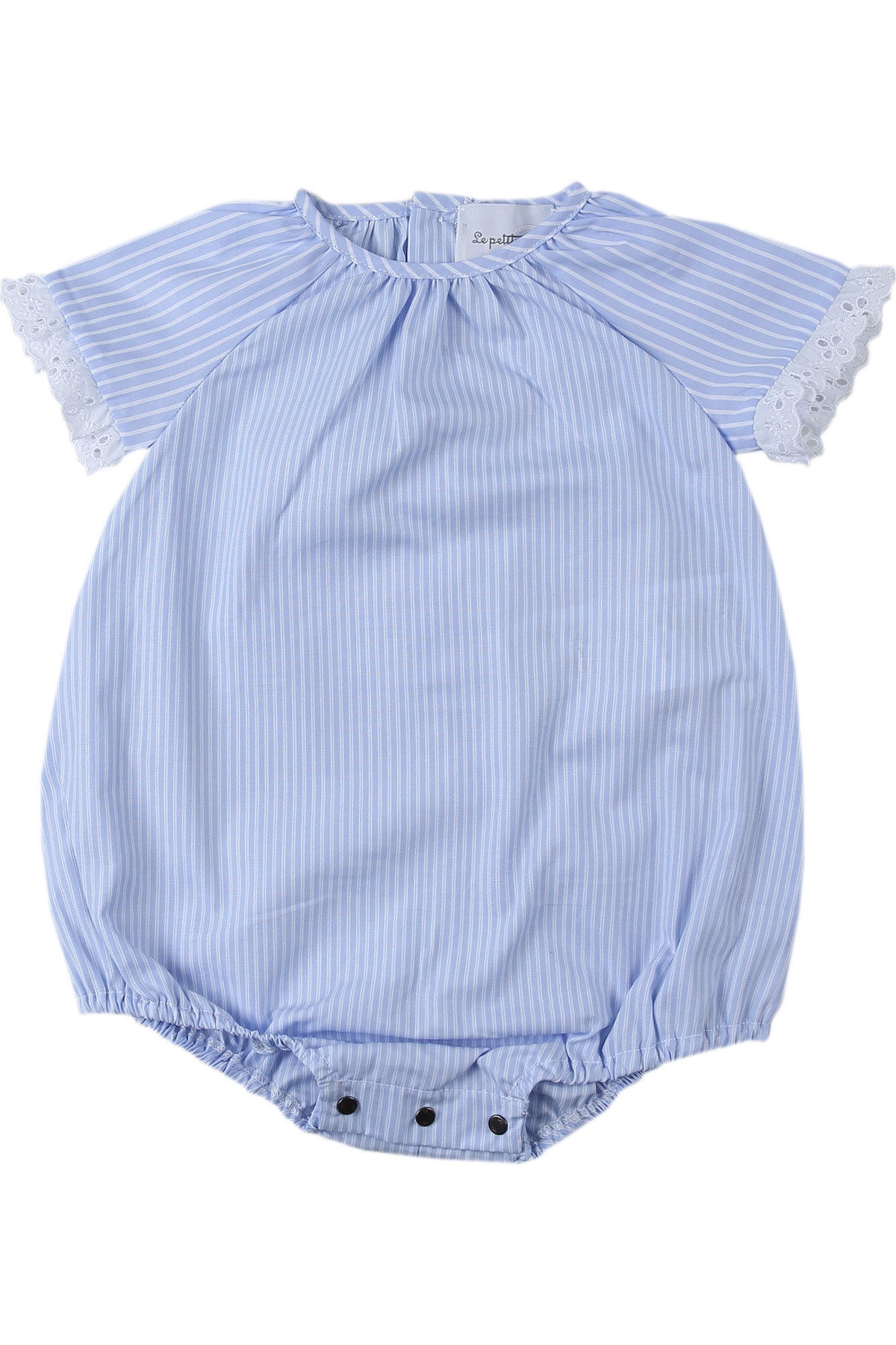 Le Petit Coco Baby Bodysuits & Onesies for Girls On Sale, Blue, Cotton, 2019, 3M 6M 9M