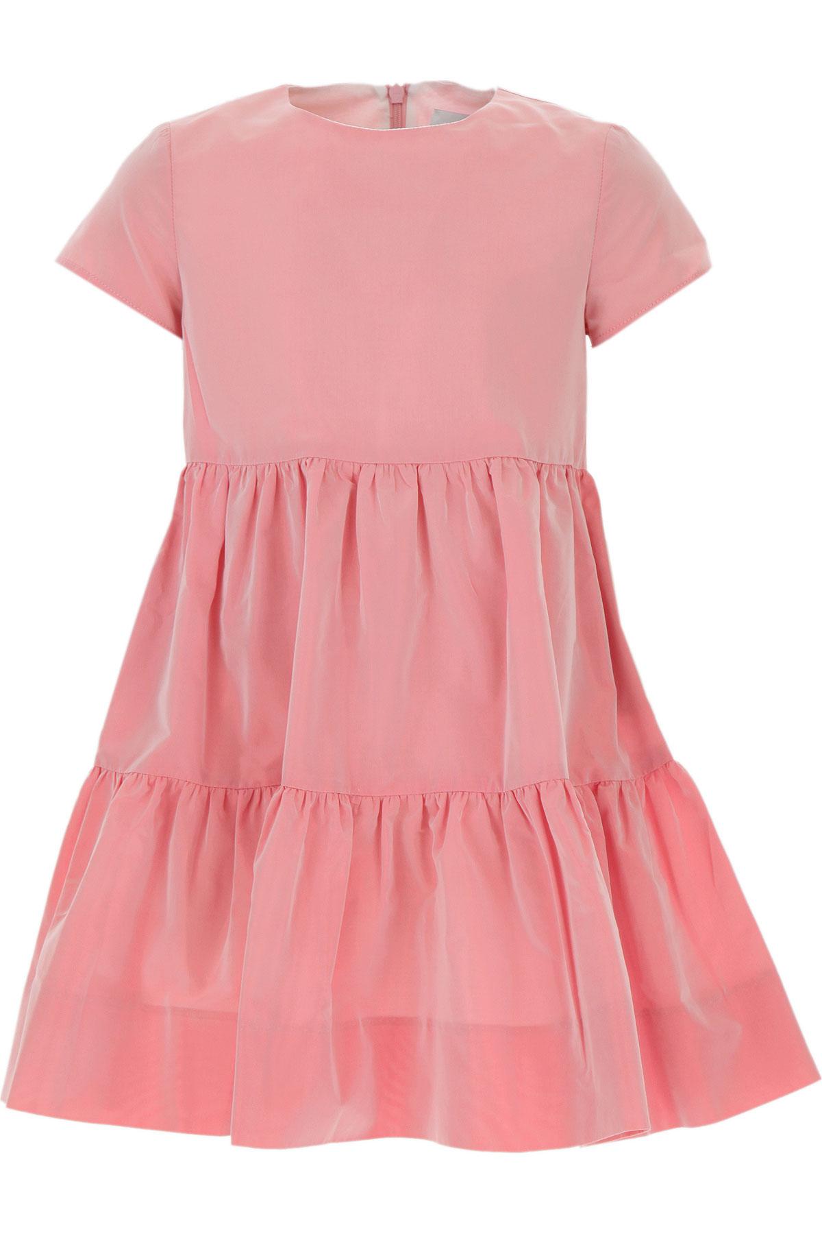 Le Petit Coco Girls Dress On Sale, Pink, acetate, 2019, 10Y 3Y 4Y 8Y