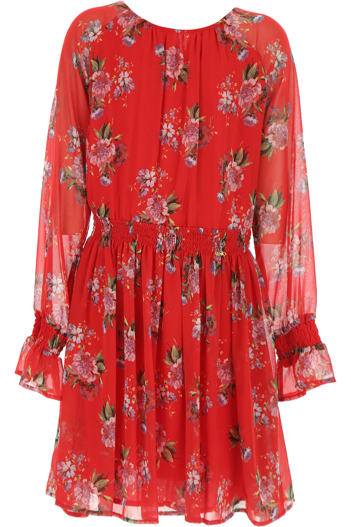 Image of Liu Jo Girls Dress, Red, polyester, 2017, 14Y 16Y