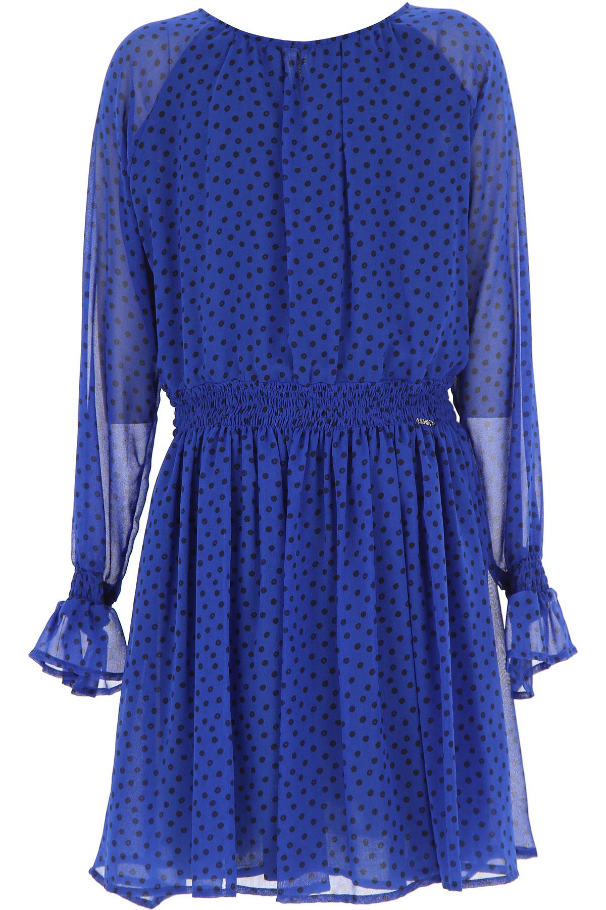 Image of Liu Jo Girls Dress, Electric Blue, polyester, 2017, 10Y 14Y 16Y