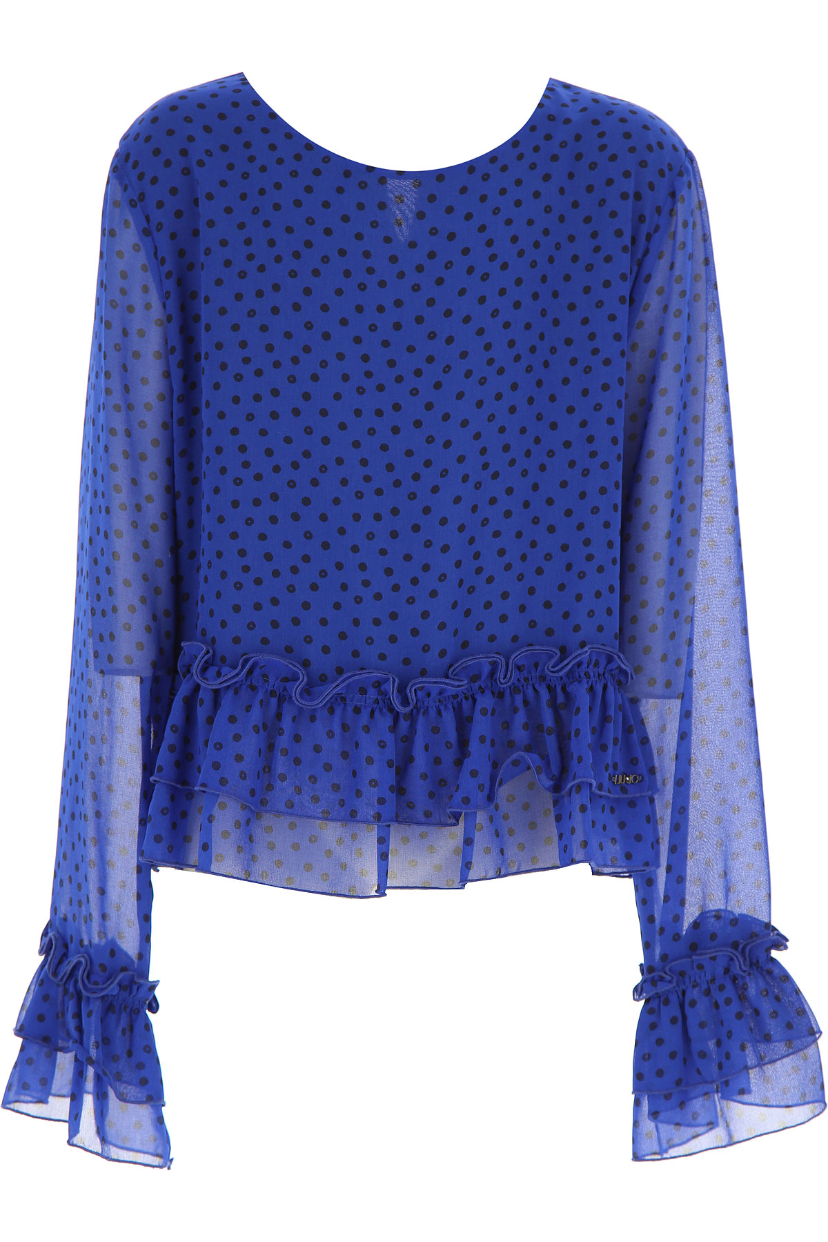 Liu Jo Kids Shirts for Girls, Elettric Blue, polyester, 2017, 14Y 16Y