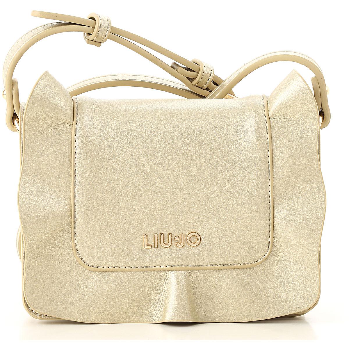 Image of Liu Jo Girls Handbag, Gold, polyester, 2017