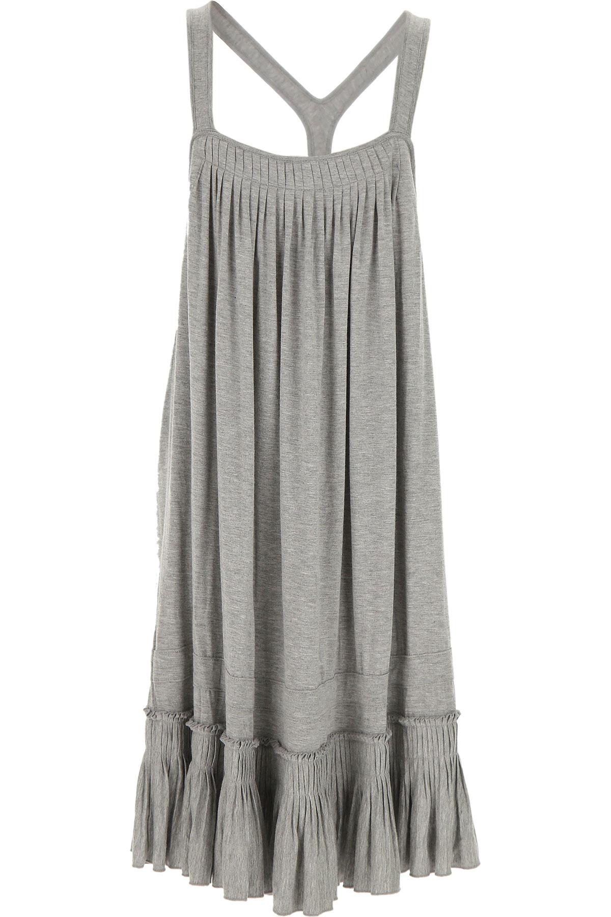 Lu - Lu Robes Fille Pas cher en Soldes Outlet, Gris, Viscose, 2019, XL XXL