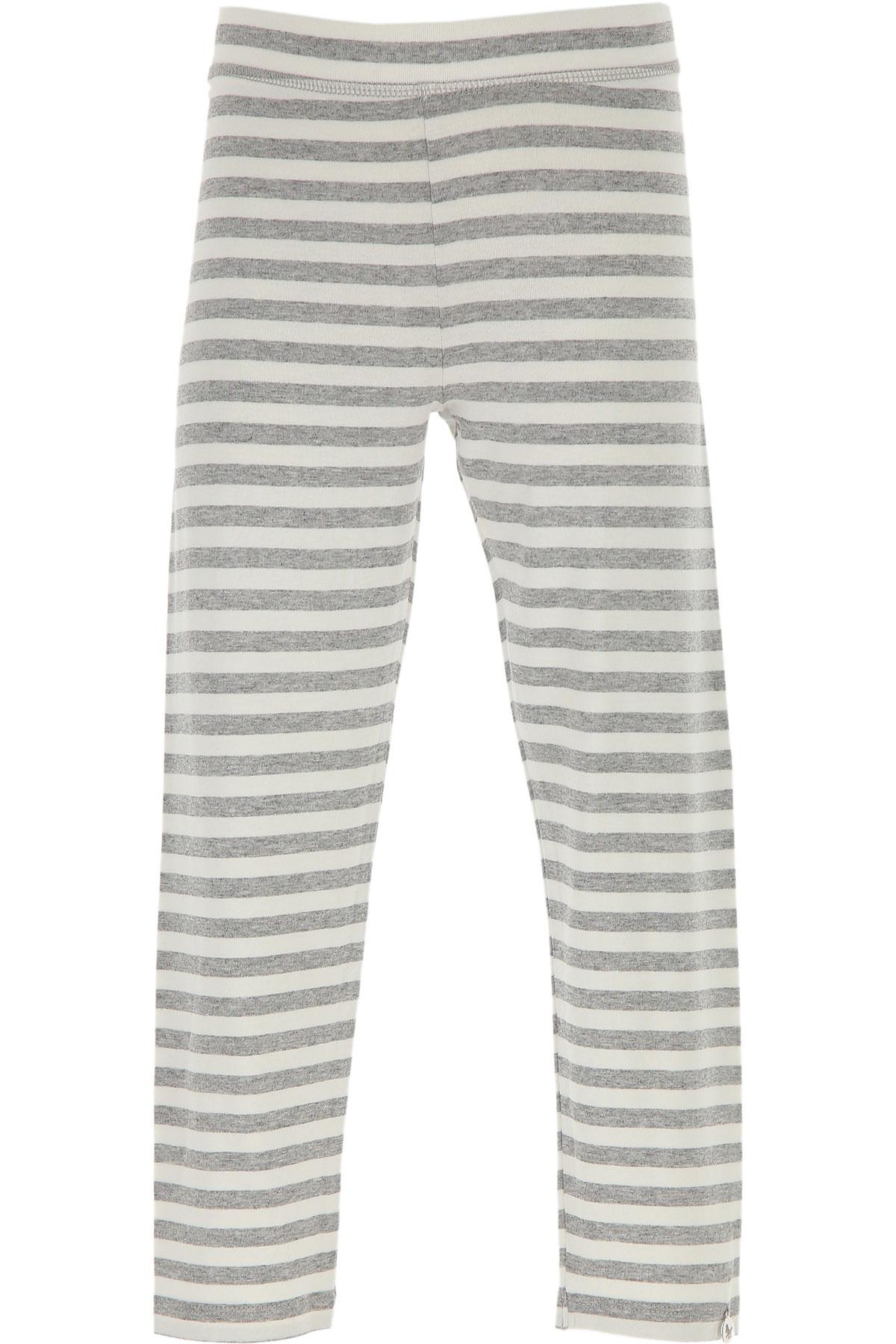 Lu - Lu Pantalons Enfant pour Fille Pas cher en Soldes Outlet, Blanc, Viscose, 2019, M XXL