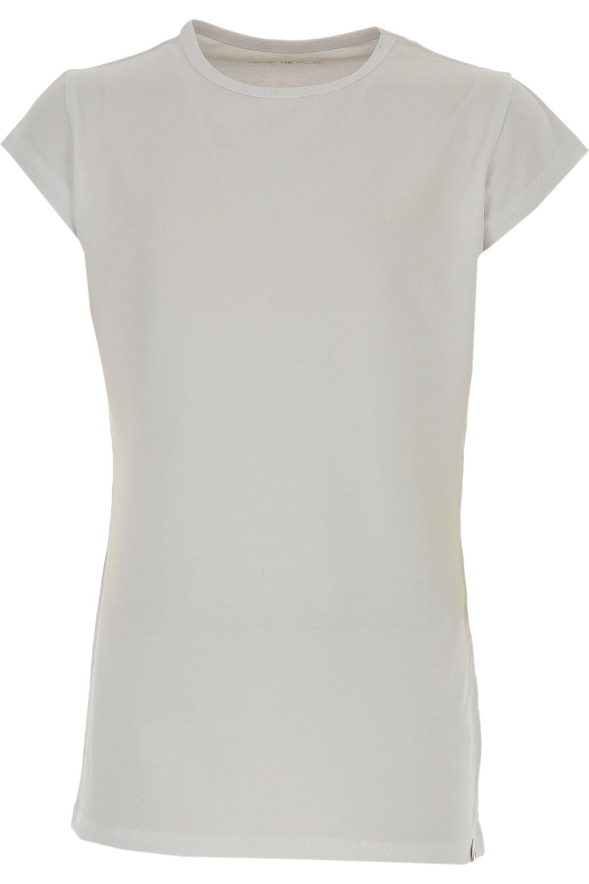 Lu - Lu T-Shirt Enfant pour Fille Pas cher en Soldes Outlet, Blanc, Coton, 2019, XL XXL