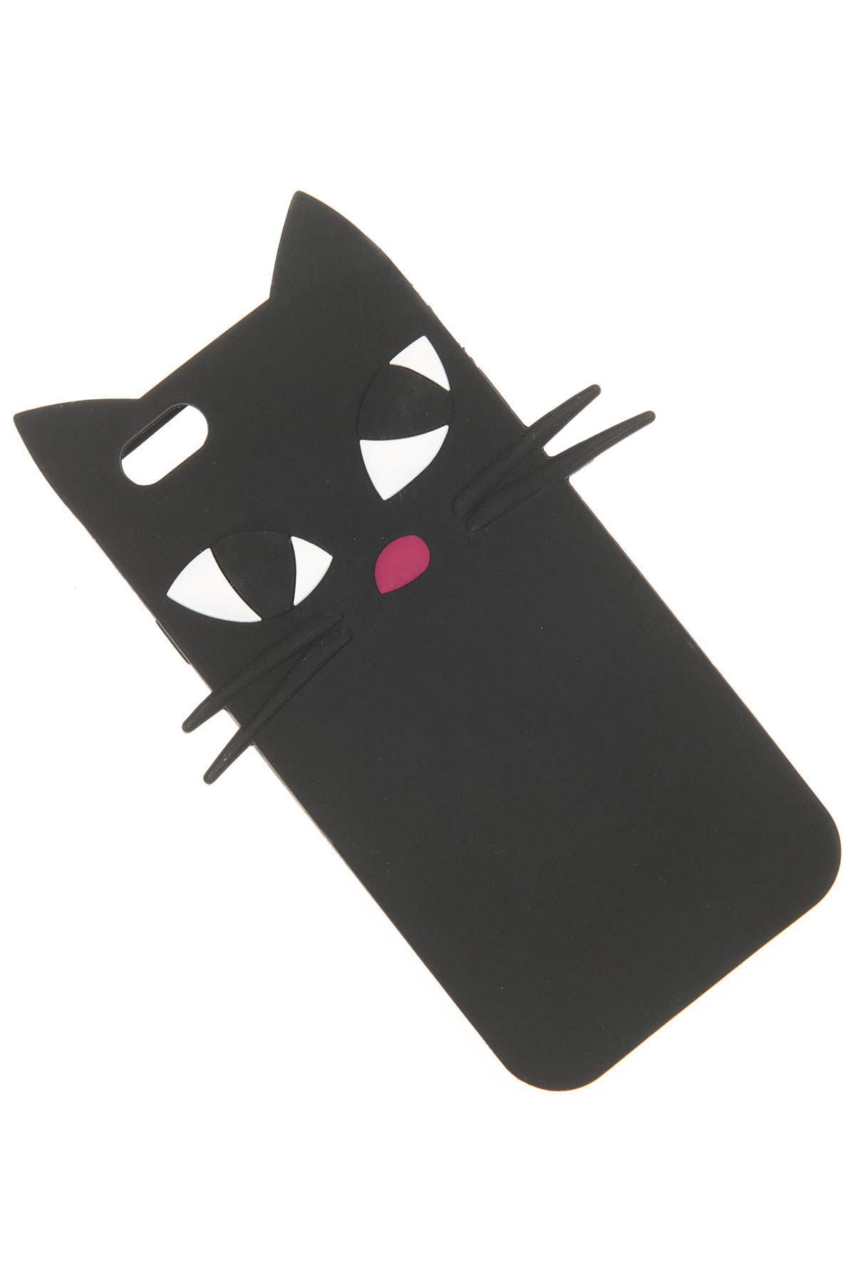 Image of Lulu Guinness iPhone 6 • 6S, Black, Rubber, 2017