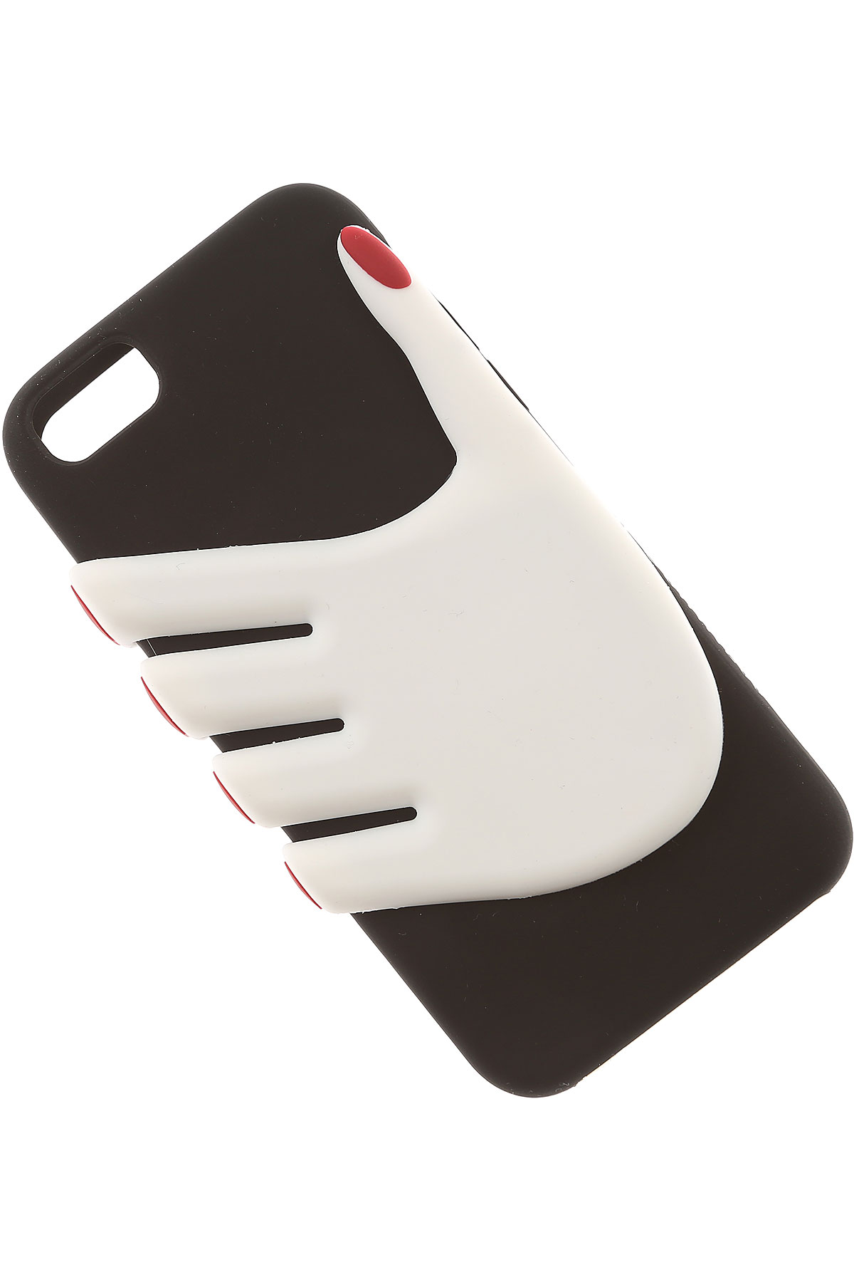 Lulu Guinness iPhone Cases On Sale, Iphone 6 And 7 Case, Black, Rubber, 2019