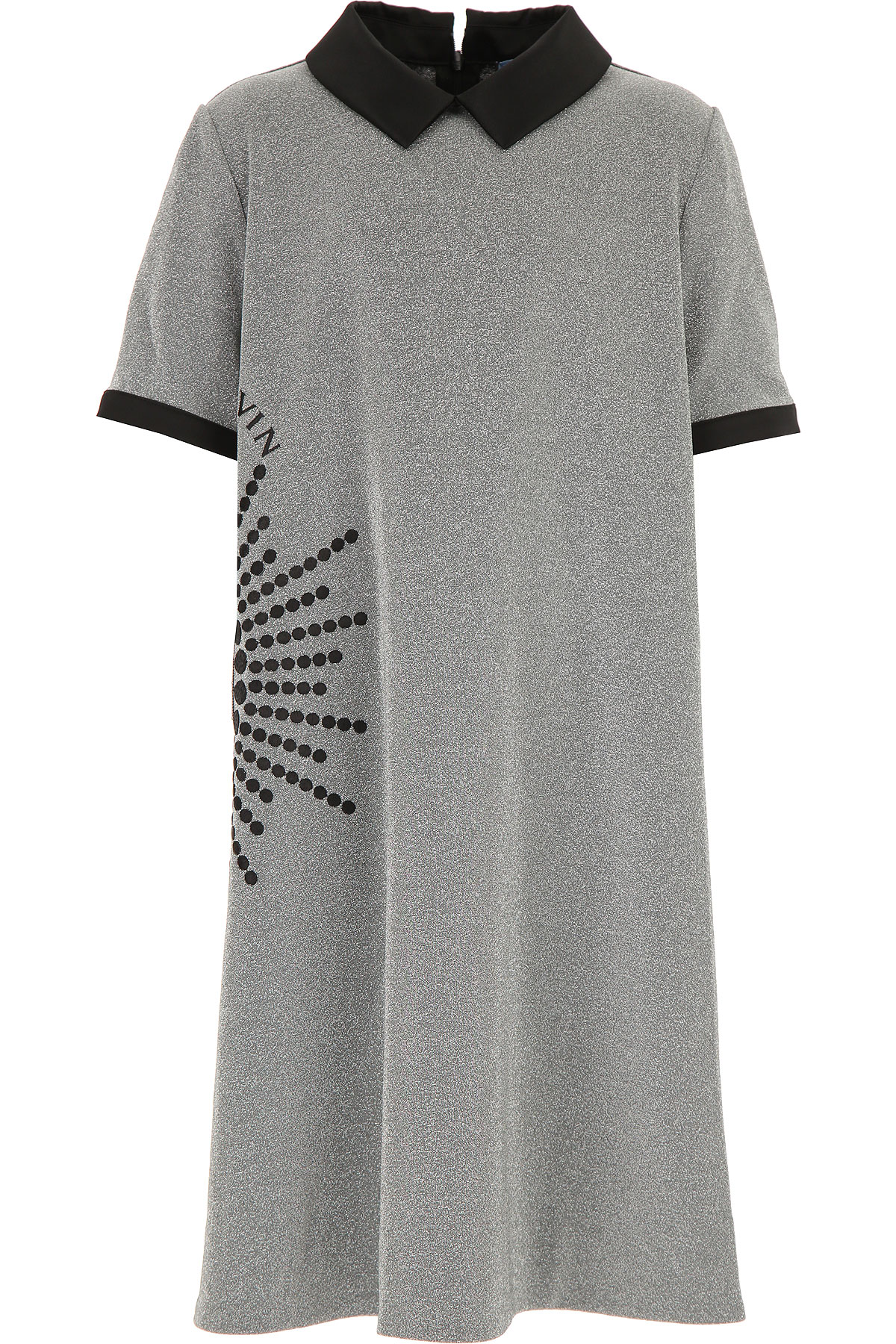 Lanvin Girls Dress On Sale, Silver, viscosa, 2019, 10Y 12Y