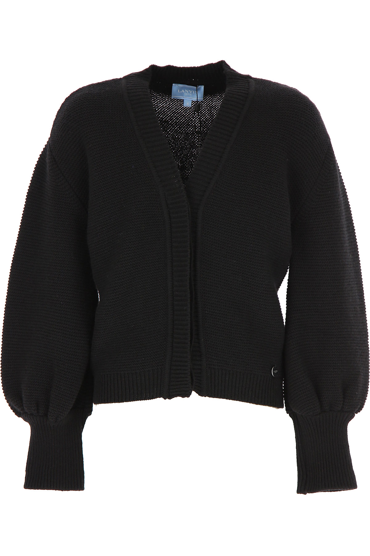 Lanvin Kids Sweaters for Girls On Sale, Black, Virgin wool, 2019, 10Y 12Y 14Y 2Y 4Y 6Y 8Y