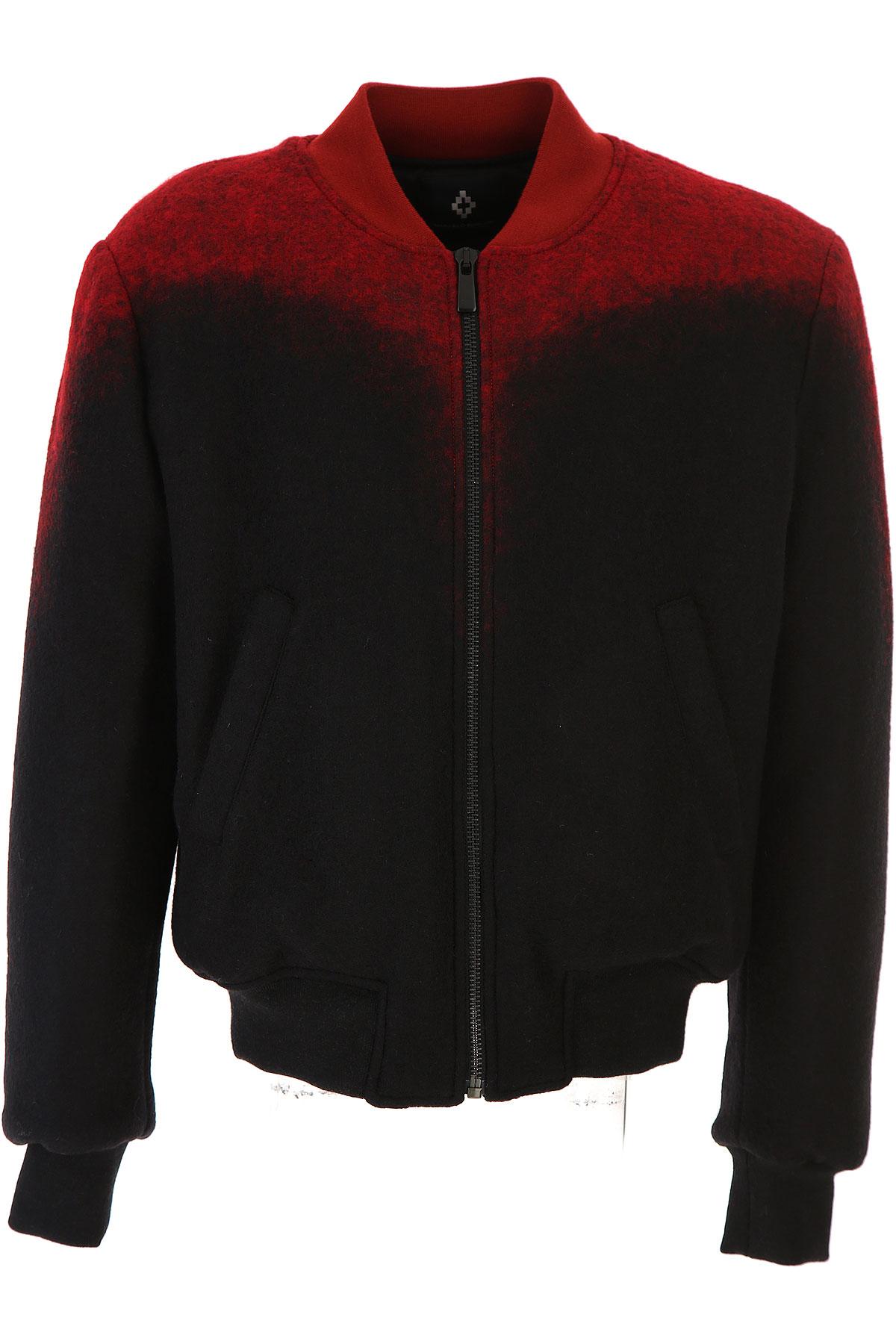 Image of Marcelo Burlon Jacket for Men, Red, Virgin wool, 2017, L S XL