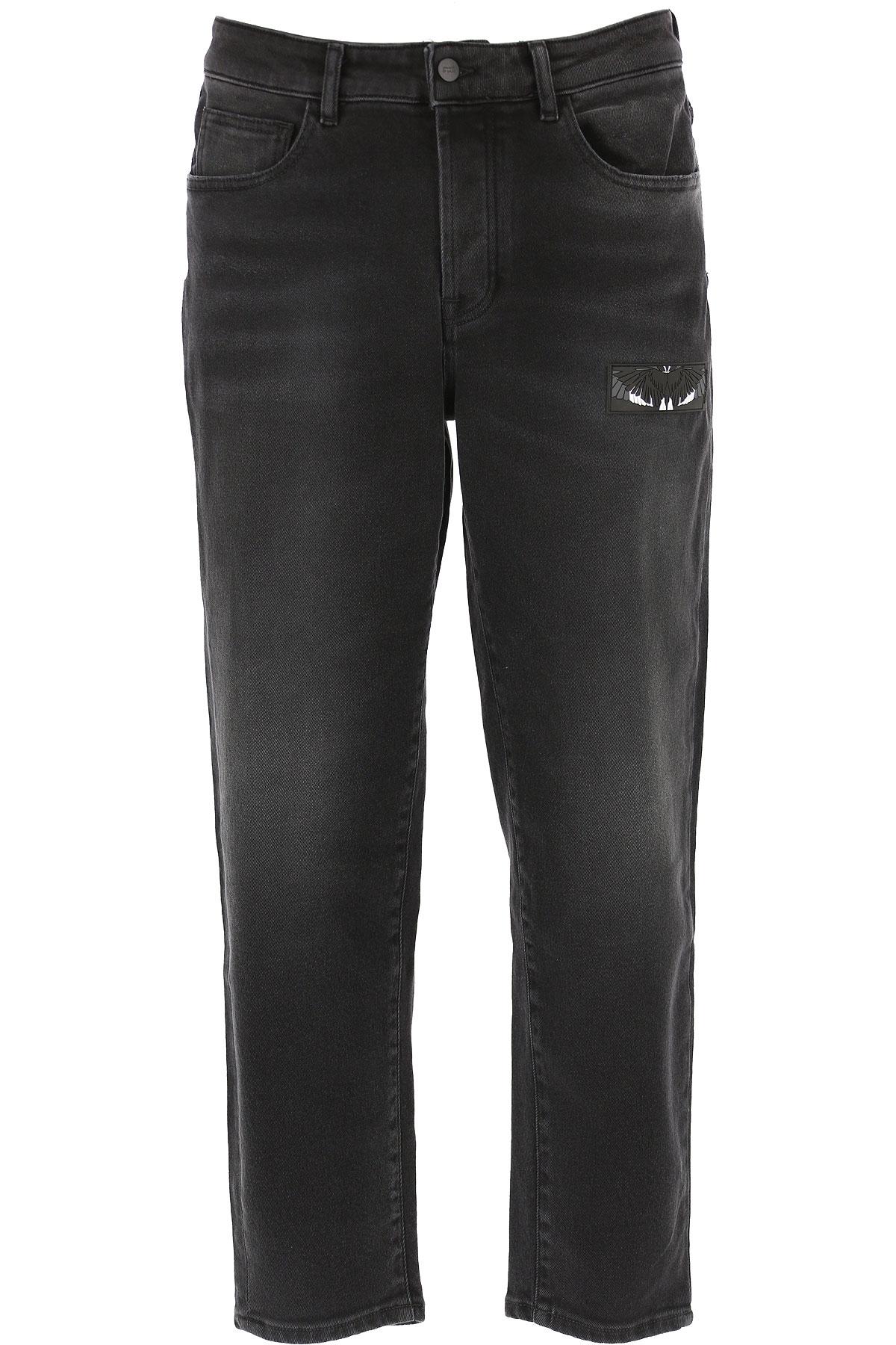 Marcelo Burlon Jeans On Sale, Black, Cotton, 2019, 30 32 33
