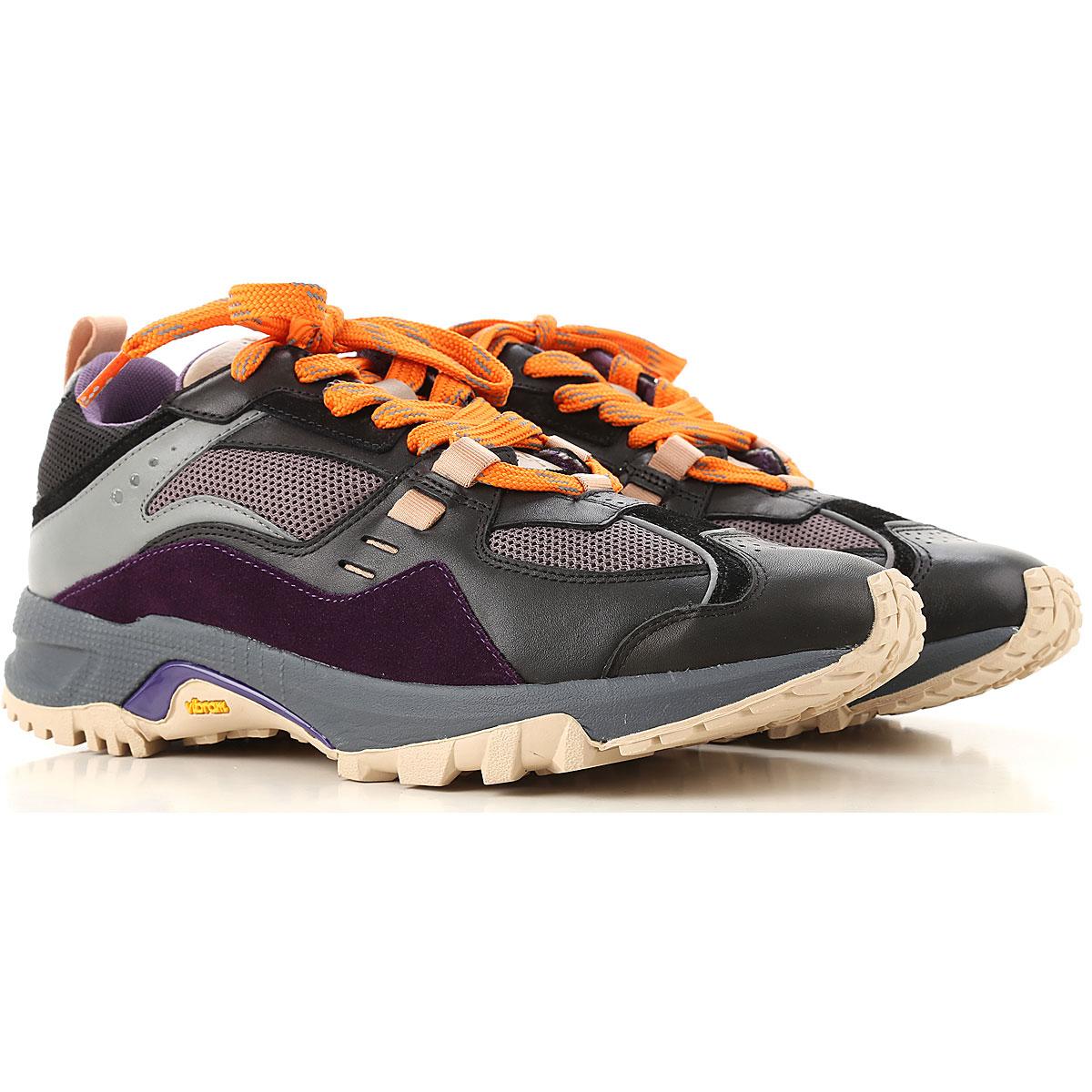 Marcelo Burlon Sneaker Homme, Prune Violet, Daim, 2019, 40 41 42 43 44