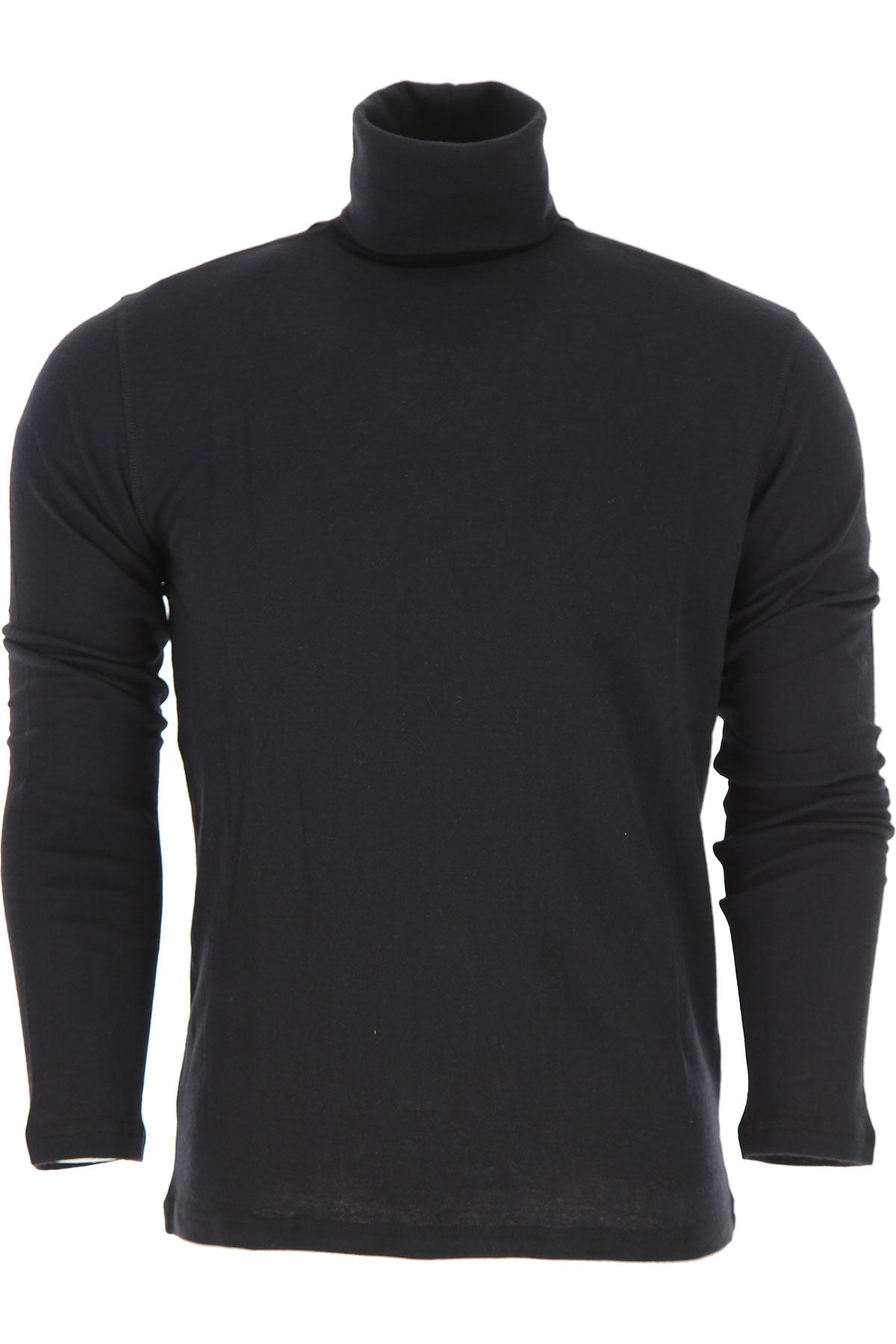 Image of Majestic Filatures T-Shirt for Men, Black, Cotton, 2017, L M S XL