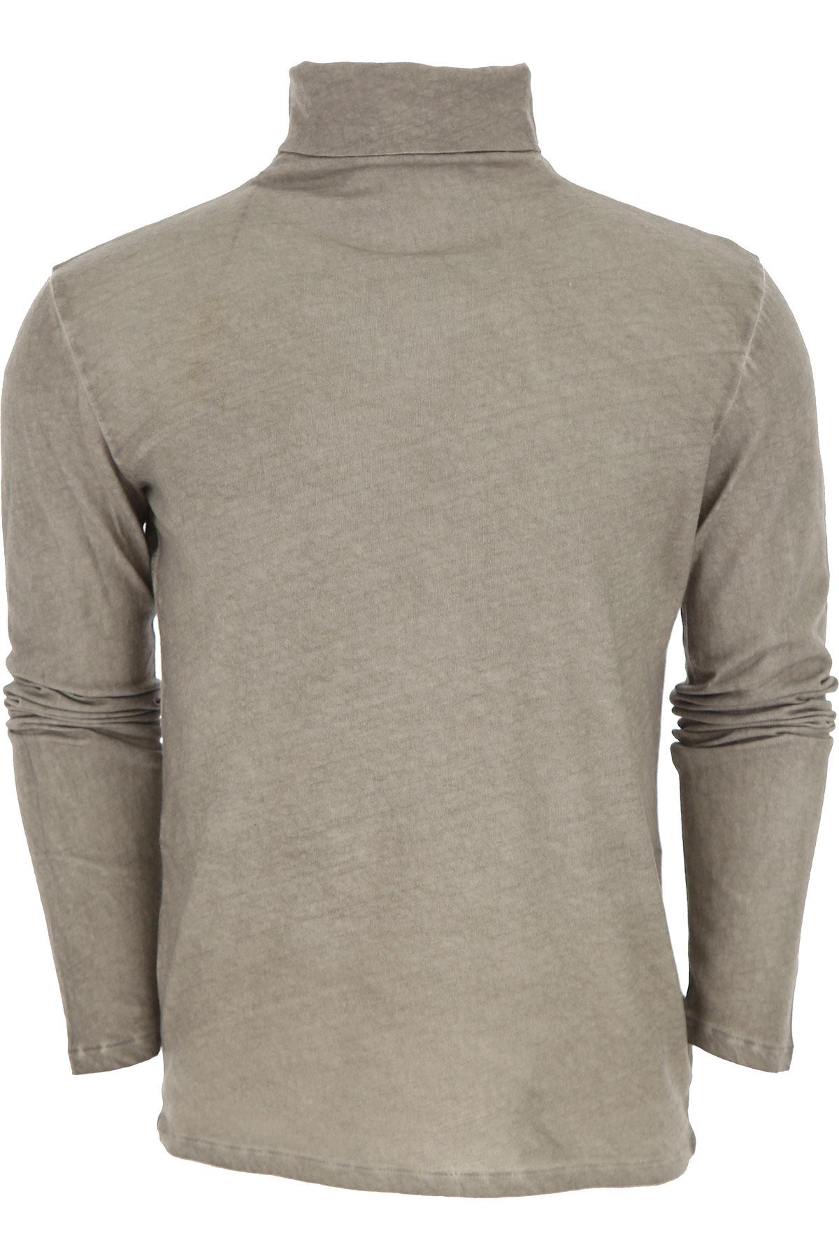 Image of Majestic Filatures T-Shirt for Men, Beige Stone, Cotton, 2017, L M XL