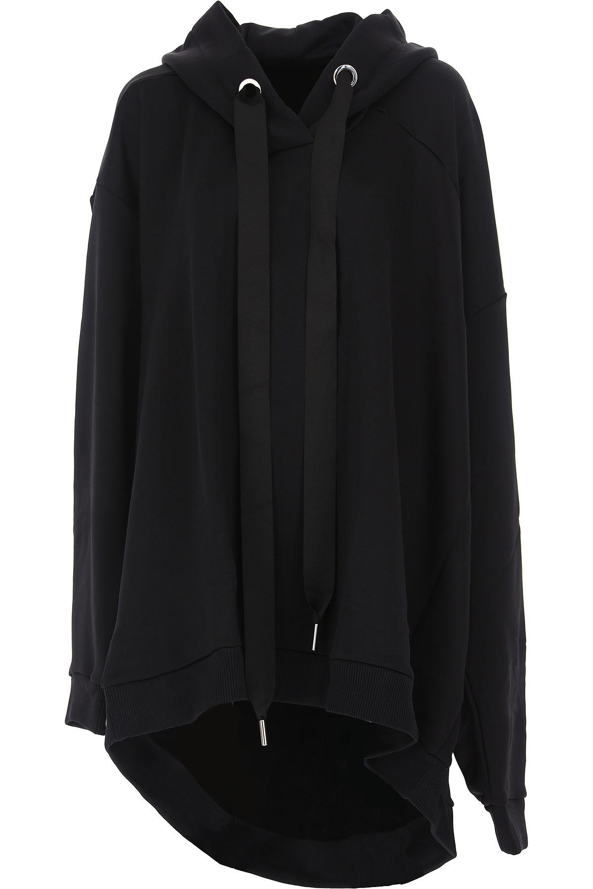 Image of Marques Almeida Sweatshirt for Women On Sale, Black, Cotton, 2017, 2 4